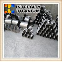 Buy cheap Factory supply Industrial use ASTM B16.9 ASTM B16.5 GR2  titanium pipe fitting from wholesalers