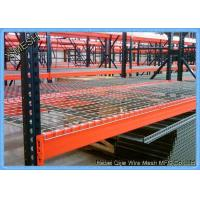 Buy cheap zinc plated Metal Wire Mesh Decking Waterfall 3 Channel Step For warehouse Pallet Racking from wholesalers