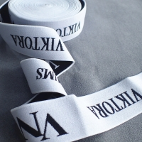 Buy cheap Nylon 1.2mm Printed Elastic Band For Underwear Clothing from wholesalers