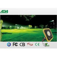 Slim High CRI Yellow Led Parking Lot Flood Lights With 5 Years Warranty Manufactures