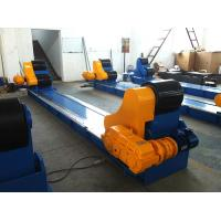 Buy cheap Blue Self Aligning Welding Rotator  Pipe Rollers Heavy Duty , Bolt Adjustment Pipe Wheels Rollers from wholesalers