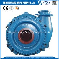 Buy cheap Horizontal Centrifugal type Wear Resistant High Chorme Alloy material 12/10 G-G Gravel Pump from wholesalers