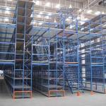 Buy cheap Heavy Duty Mezzanine Floor Racking System For Warehouse Storage Mezzanine Rack from wholesalers