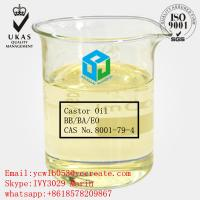 China Raw Castor Oil Safe Organic Solvents For Intravenous Medications CAS:8001-79-4 on sale