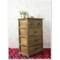 Buy cheap Shabby Chic Vintage Solid Wood Box Storage Cabinet Plastic Drawer Dividers from wholesalers