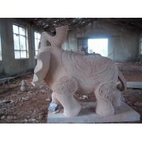Wholesale granite stone elephant sculpture & garden landscape stone from china suppliers