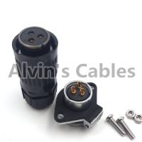 Buy cheap High Performance Industrial Power Connectors , Led Cable Connectors Bayonet Coupling from wholesalers