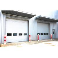 Buy cheap Automatic Vertical Lifting Industrial Sectional Doors Polyurethane Foam Insulation from wholesalers