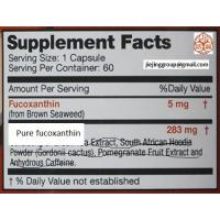 China dietary supplement fucoxanthin (brown seaweed extract) CAS NO.3351-86-8 on sale