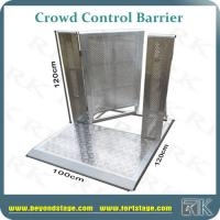 Buy cheap Aluminum crowd control barrier fence with door design and cable gate portable security fence hot sale for sports events from wholesalers