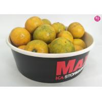 Buy cheap 100 CTNs 38oz Paper Paper Salad Bowls with Clear Lid Custom Printed Design from wholesalers