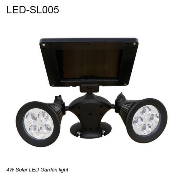 Quality Outside IP44 waterproof adjustable solar LED light & Solar led garden light for sale