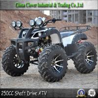 Buy cheap High Quality Powerful Quad ATV Shaft Drive 250CC Bull ATV with 12 inch Alloy Wheel from wholesalers