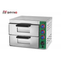 China 2 Decks Home Kitchen Toaster Mini Pizza Oven Electric Bread Maker 3KW For Bakery With Viewing Window on sale