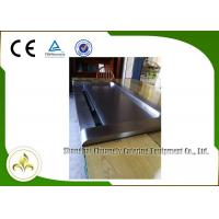 China 7 Seats Down Fume Exhaustion Front Air Supply  Sunken Air Inlet Rectangle Electric Teppanyaki Grill Table on sale