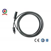 Buy cheap Low Smoke DC  Solar Cable Excellent Plastic Material High Flame Retardant Properties from wholesalers