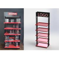 Buy cheap 5 Shelves Heavy Duty Display Stand Auto Parts Display Racks For / POP Oil Bottles from wholesalers