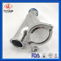 Buy cheap Heat Resistant Sanitary Ball Check Valve For Water Beer Brew Dairy Industry from wholesalers