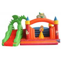 Buy cheap ALLIANCE snow white Inflatable jumping Castle with slide For kids from wholesalers