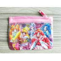 Buy cheap Cute Girl Reusable Ziplock Bags / Offset Printing PVC Pencil Case product