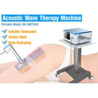 Buy cheap Advanced model SWT5000 Physical Acoustic wave radial wave therapy equipment for cellulite removal from wholesalers