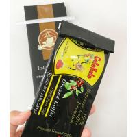 Buy cheap Stand Up Tea Food Grade Heat Seal Side Gusset Pouch , Side Gusset Coffee Bags from wholesalers