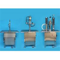 Buy cheap Industrial Automatic Filling Machine Aerosol Canning Machine 1000-1500 Can / H from wholesalers