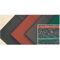 Buy cheap 50*50 Cm Outdoor Rubber Mat Playground Soft Surface With Good Anti - Slip Performance from wholesalers