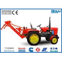 Buy cheap 16mm steel rope Tractor Puller 110V 325mm Wheel with 6 Groove from wholesalers