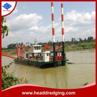 Buy cheap customized hydraulic cutter suction dredger for sand, mud dredging from wholesalers