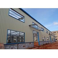 Buy cheap Q235 Prefabricated Light Steel Space Frame Structure , Prefab Workshop Buildings from wholesalers