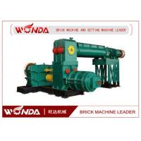 Automatic Clay Brick Making Machine , Double Stage Brick Extrusion MachineDurable