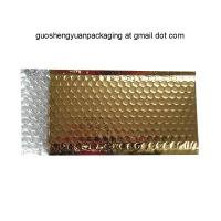 Buy cheap Golden bubble envelope customed bag  in cheap price wholesale in China from wholesalers
