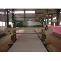 Horizontal Long Sheet Sponge Cutting Machine For Rigid PU Foam 60m / Min Manufactures