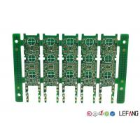 Wholesale Rigid Multilayer PCB Fabrication , Industrial Circuit Board Green Solder Mask from china suppliers