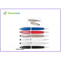 Buy cheap 1GB 2GB White / Blue / Red /  Black Pen Usb Promotion School Office from wholesalers