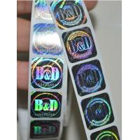 Buy cheap 3D Laser Anti-Counterfeiting hologram sticker, Anti-counterfeiting Label, Anti-fake label from wholesalers