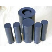 Buy cheap 100mm Width Black  Rods / PTFE Rod For Chemical , Self Lubricating from wholesalers