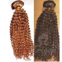 Buy cheap Top quality 100% hair extension hand tied weft hair from wholesalers