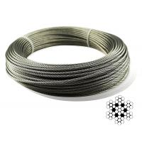 Buy cheap Aircraft Stainless Steel Wire Rope Cable For Railing / Decking / DIY Balustrade from wholesalers