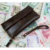 Buy cheap oil  leather wallets from wholesalers
