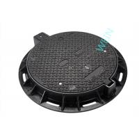 Wholesale EN124 Standard Round Cast Iron Manhole Cover For Municipal L Construction from china suppliers