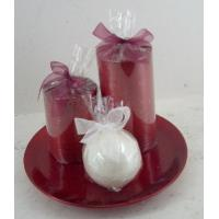 Buy cheap Smokeless scented candle gift sets for travel, wedding, bars product