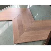 Wholesale Oak chervon hardwood floors, 45 degree angle, special and popular design from china suppliers