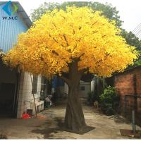 Wholesale Home Decoration Artificial Ginkgo Tree With or Without Nuts Type 6m Height from china suppliers