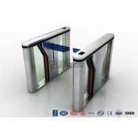 Pedestrian Intelligent Security Drop Arm Turnstile Access Control with LED Indicator Manufactures