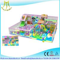 Hansel hot sell cheap 2017 children factory price indoor soft play indoor jungle gyms for kids Manufactures