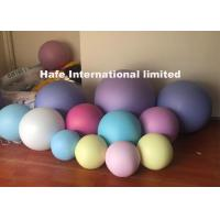 Buy cheap 30cm - 5m Inflatable Advertising Balloons Pink Red Blue Yellow With Customize Color from wholesalers