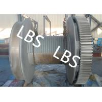 China Crane / Mine / Port Rope Winch Drum Electric Pulling Winch 10t 20t on sale