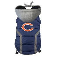Buy cheap Personalized Chicago Bears Dog Puffer Vest Embroidered Logo Pet Pug clothes from wholesalers